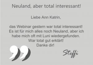Rezension-Steffi